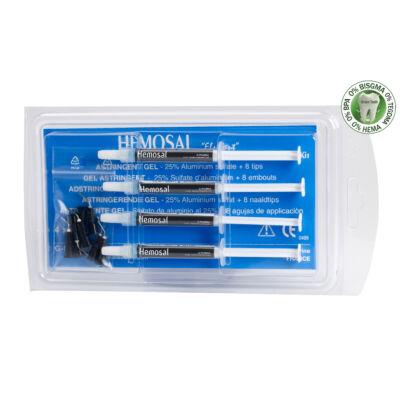 Hemosal adstringens gél / ideális viszkozitás, (kék) 4x1,5g